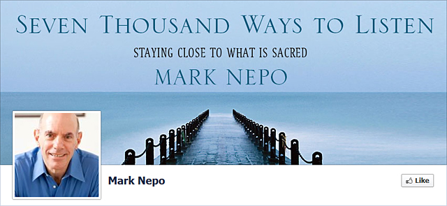 Mark Nepo on Facebook