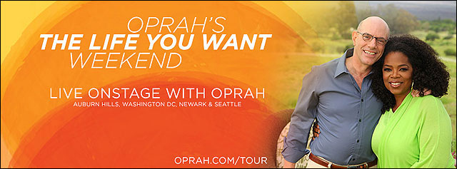 Mark Nepo with Oprah - The Life You Want Weekend
